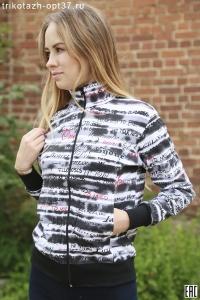 Куртка спортивная К-03УВ (интерлок)
