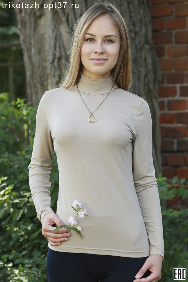 Водолазка женская, модель 02