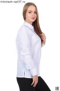 Рубашка корпоративная белая (с вышивкой)