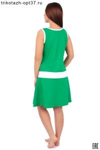 Платье женское, модель 03 с аппликацией