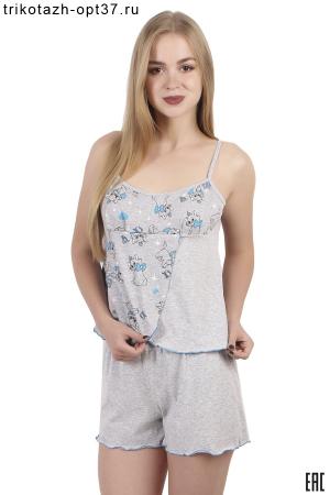 Пижама, модель 08 (кулирка)