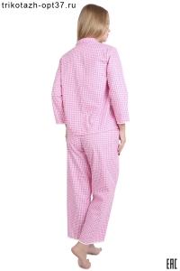 Пижама женская из поплина