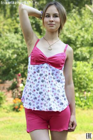Пижама женская, модель 01