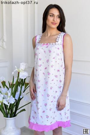 Сорочка ночная женская, модель 05 (кулирка)