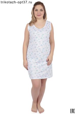 Сорочка ночная женская, модель 06 (кулирка)