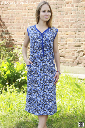 Платье женское, модель 06 (кулирка)