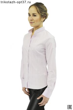 """Рубашка однотонная женская, модель """"Кембридж"""""""