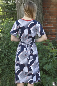 Платье женское, модель 05 (кулирка)