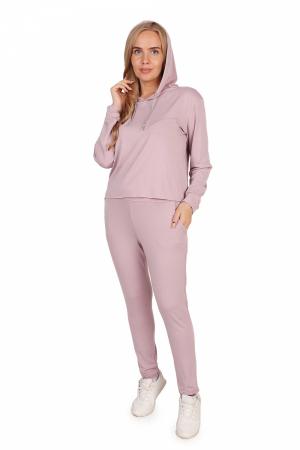 Костюм женский трикотажный  КДВ, светло-розовый