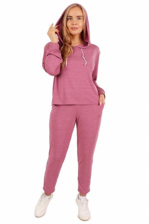 Костюм женский трикотажный КДВ, розовый