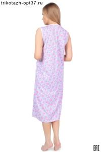 Сорочка ночная женская, модель 03КР (кулирка)