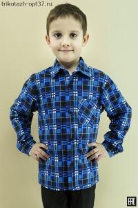 Рубашка детская и подростковая, фланель