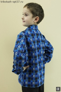 Рубашка детская/подростковая, фланель