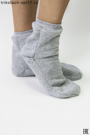 Носки унисекс, футер