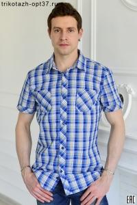 Приталенная мужская рубашка ПК-32