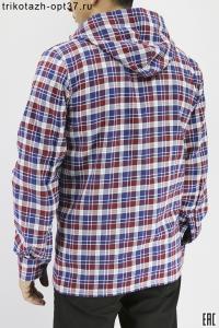 """Рубашка мужская с капюшоном """"Мэн"""""""