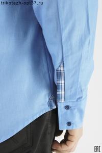 """Сорочка мужская, длинный рукав, с отделкой, """"Стронг"""""""