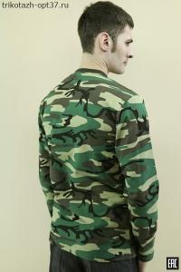 Толстовка мужская КМФ, футер