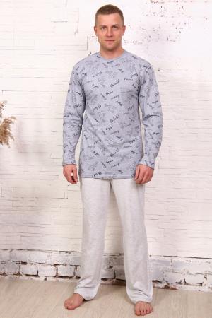Пижама мужская трикотаж, комбо2