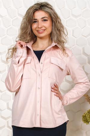Жакет женский замша, розовый