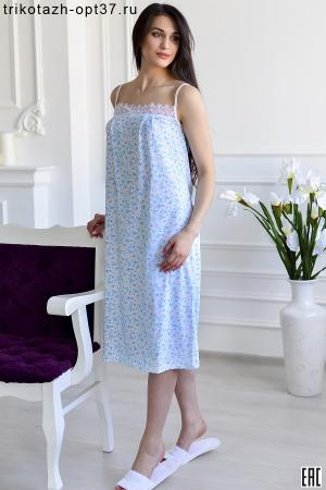 Сорочка ночная женская, модель 02БР (кулирка)