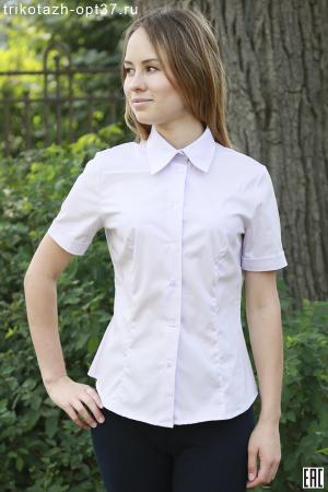 Рубашка однотонная для женщин, модель 9