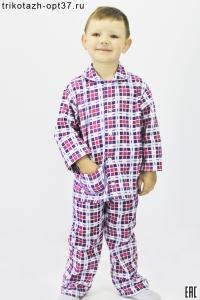 Пижама детская фланелевая